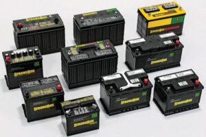 baterías eléctricas