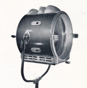 Lámparas voltaicas de arco de carbono